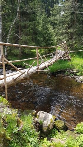 Most u kempu Zahrádky.