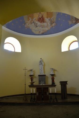 Kaple sv. Vavřince.