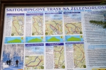 Skitouringové trasy.