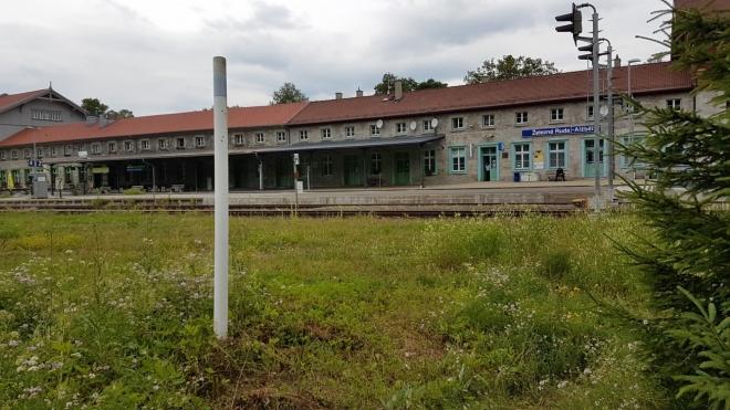 Alžbětínské nádraží.