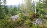 Jezerní hora - severní vrchol.