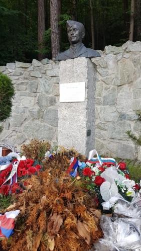 Památník Jozefa Gabčíka.