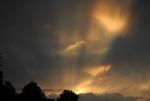 Závěrečná sluneční šou...