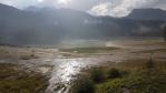 Crno jezero po dvouhodinové bouřce.