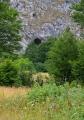 Jalovačka pećina - jeskyně nad planinou.