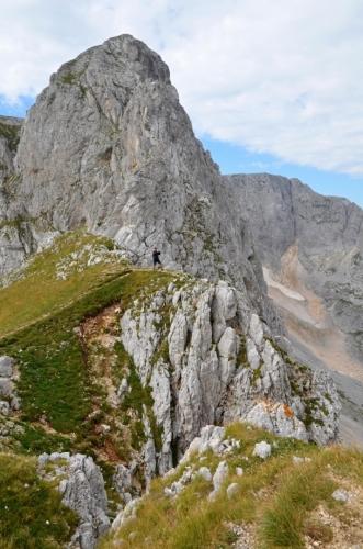 Vrchol Šljemena (2 445 m n. m.).