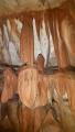 Krápníky v jedné z jeskyní štoly mohou připomínat ledacos...