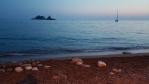 Večer na pláži Petrovac.