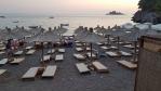 Večer na pláži Lučice.