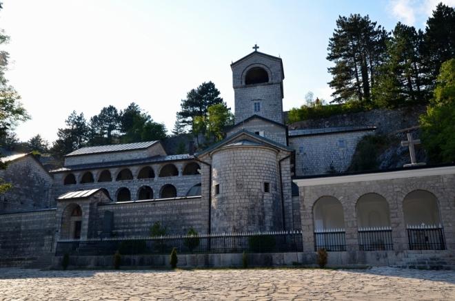 Cetinský kostel.