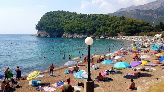 Pláž Lužica.
