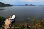 Projeli jsme si jen nepatrnou část obrovského Skadarského jezera.