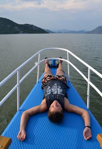 Relax na jezeře.