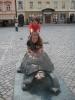 Na náměstí mají pěknou želvičku.