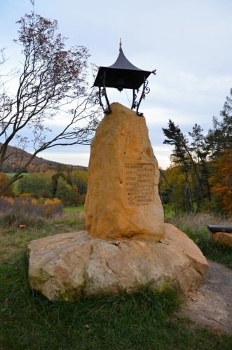 Zvonička pochází z roku 2016.