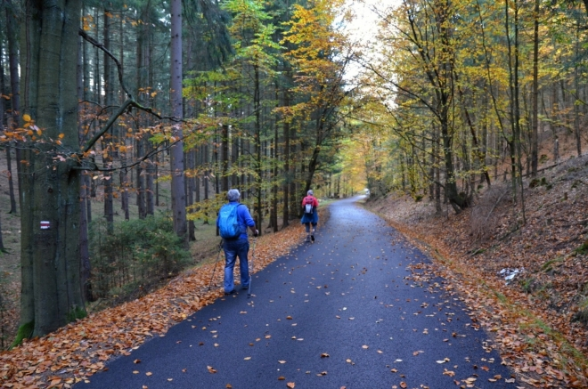 Že je Česká silnice i cyklotrasou, nemusíte vůbec pochybovat.