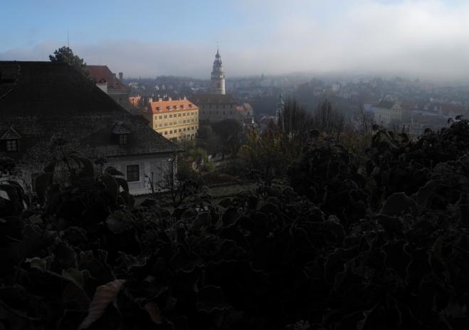 Český Krumlov z hradu...