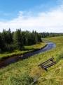 Dvoudenní okruh, který chceme udělat, lze začít jen na Modravě. Proto naše první kroky směřují kolem Roklanského potoka.