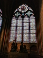 Interiér katedrály Notre Dame
