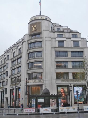 Budova Louis Vutton