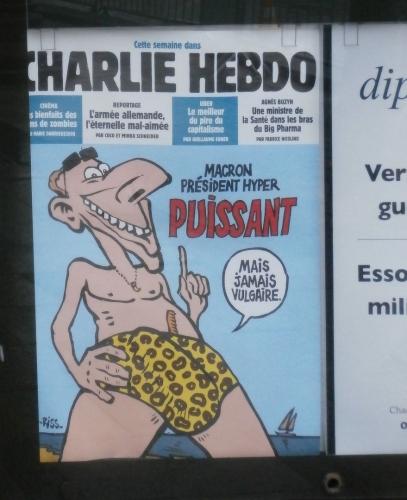 Jeden z výtisků Charlie Hebdo