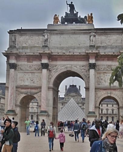 Oblouk Arc de Triomphe du Carrousel