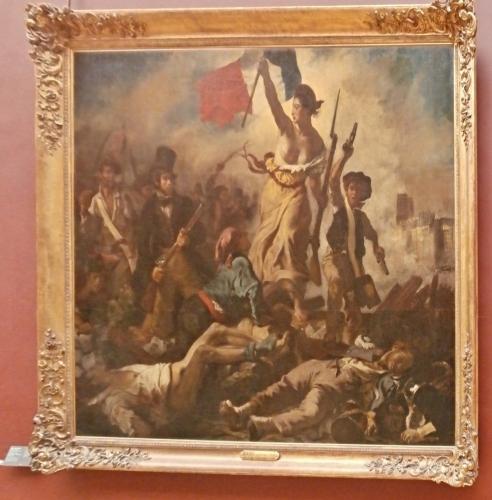 Obraz Svobody vedoucí lid