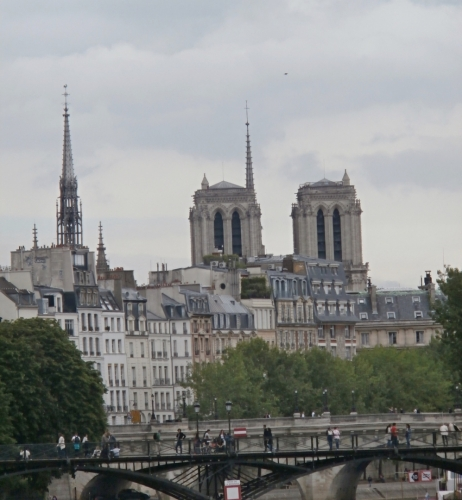 Pohled na symbol Paříže