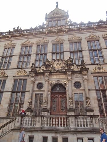Der Schütting, která se také používala jako radnice