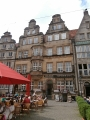 Hanzovní domy na hlavním náměstí Markt