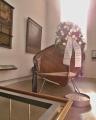 Záchranný člun v Pamírské kapli