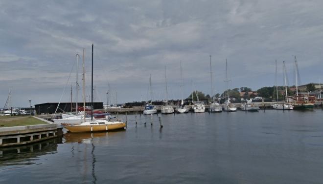 V rybářské vesničce Stege