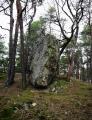 Ke kamenu na vrcholu se pojí zajímavá pověst, viz článek.