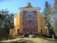 Hlavní svatyně - Kaple povýšení Sv. Kříže...
