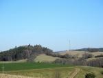 Pohled na Kalvàrii od Dřešína.