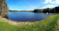 Křišťanovický rybník leží v nadmořské výšce atakující 800 m.
