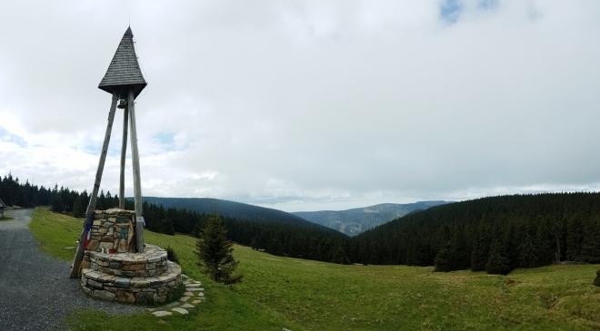 Zvonička na Švýcárně.