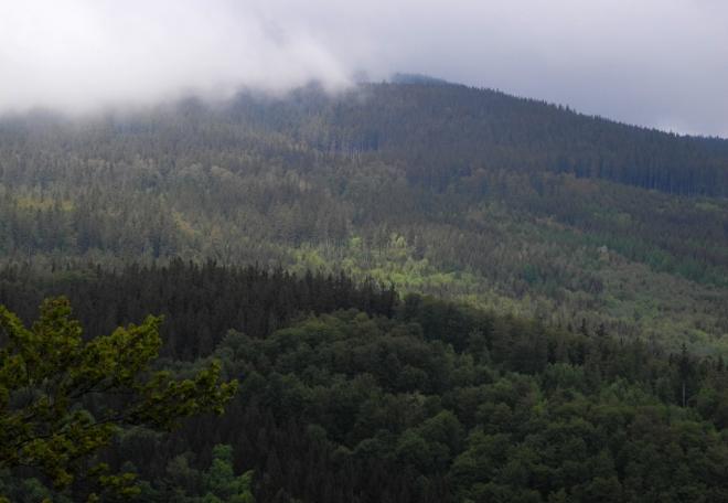 Žárový vrch.
