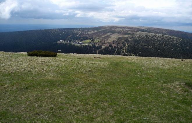 Vysoká hole (1 464 m n. m.).
