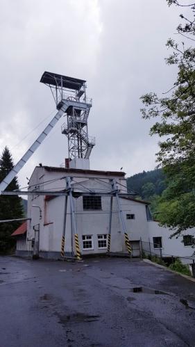 Bývalý důl Svornost.