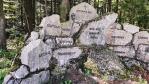 Památník vysídlení u Grūnwaldu.