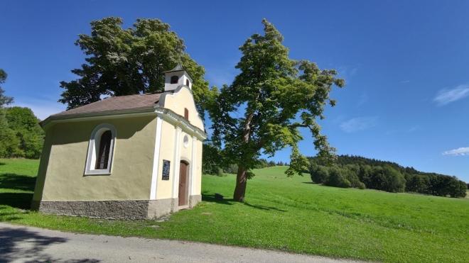 Kaple u bývalých Starých Hutí.