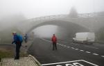 První výprava z Červenohorského sedla bude zahalena mlhou...