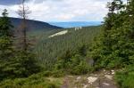 Suťové pole u červené turistické stezky vedoucí na vrchol Kralického Sněžníku leží pod. Vlaštovčími kameny a jsou tvořeny svorem a rulou s příměsemi křemenců.