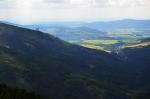 A zpět k Dolní Moravě. Tvrdý sestup o téměř osm set metrů.