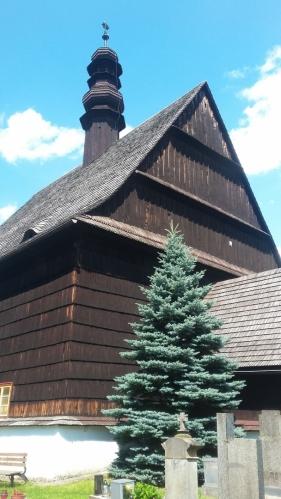 Dřevěný kostel sv. Petra a Pavla v Liberku.