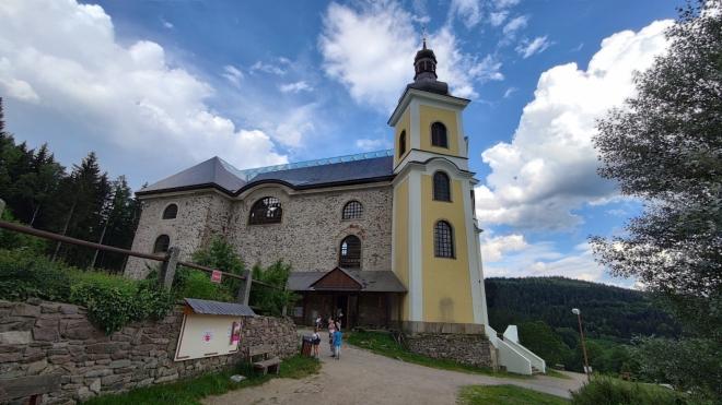 Kostel Nanebevzetí Panny Marie. ..