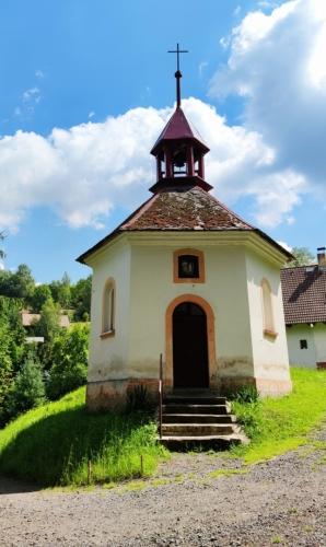 Kaple nad nádrží Pastviny ll.