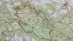 Mapa Stolových hor.