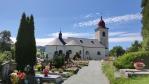 Kostel v Olešnici.